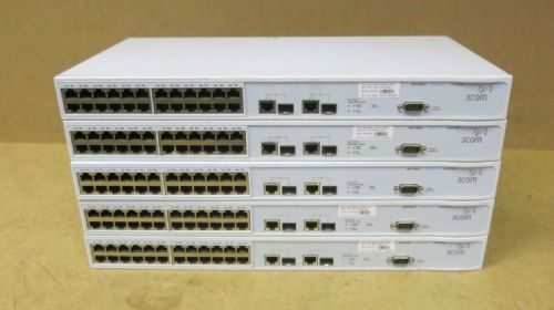 5 x 3Com SuperStack 3 Layer 10/100 24 Port Network Switch 3226 3CR17500-91